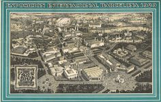 #arxiu #mapa #expo1929 #Barcelona