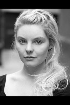 Nell Hudson, who will play Laoghaire in the OUTLANDER TV series.