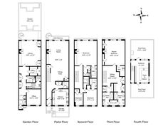 29 best New York images on Pinterest | Apartment floor plans ...