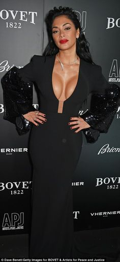 Nicole Scherzinger attends the BOVET 1822 Brilliant is Beautiful Gala benefitting Artists for Peace and Justice's Global Education Fund for Women and. Nicole Scherzinger Age, Layered Fashion, Ebony Girls, Beautiful Black Women, Fitness Models, Sexy Women, Celebs, Glamour, Dresses