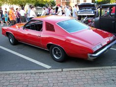 1973 - Pontiac Grand Am Pontiac Grand Am, Rear Ended, First Car, General Motors, Car Parts, Division, Muscle Cars, Cool Cars, Dream Cars