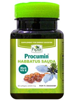Jual Procumin Rich Vit E agen stokis resmi HPAI, produk herbal Procumin Rich Vit E harga murah standar HPA Indonesia di http://www.agenhpai.com/procumin-rich-vit-e.html