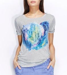 T-shirt Cœur manches courtes Kookai