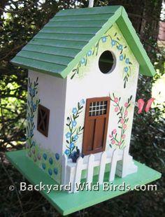 Forrest Hidden Cottage Birdhouse