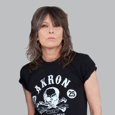 Chrissie Hynde. Still rocks.