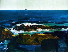 George Bellows - 1913 The Rich Water