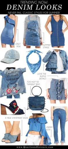 Denim Looks - Quartz
