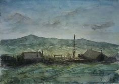 Summer Is Here, Watercolor Paintings, Armenia, Landscape Art, Instagram, Paper, Idea Paint, Watercolor, Water Colors
