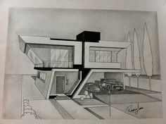 architecture architect drawing, architecture y architecture design. Architecture Design, Architecture Concept Drawings, Architecture Sketchbook, Architecture Student, Illustration Book, Architect Drawing, Appartement Design, House Drawing, Perspective Art