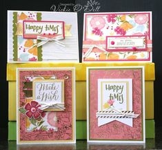 HeARTful Stamper: Happy Times 12 Cards and Scrapbook Layouts