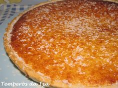 Food Cakes, Coconut Custard Pie, Portuguese Recipes, Food Inspiration, Cake Recipes, Cheesecake, Deserts, Food And Drink, Pudding