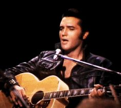 """thewonderofelvis: """"On June Elvis performed his first live shows in more than seven years, which were taped and included in the NBC-TV special called """"Elvis"""". Elvis Presley Videos, Elvis Presley Family, Elvis Presley Photos, Elvis And Priscilla, Priscilla Presley, Lisa Marie Presley, Famous Celebrities, Celebs, Elvis Sings"""