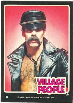 Village People Trading Cards)