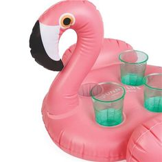 Peter's Of Kensington | SunnyLife - Inflatable Flamingo Drink Holder