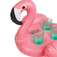Peter's Of Kensington   SunnyLife - Inflatable Flamingo Drink Holder