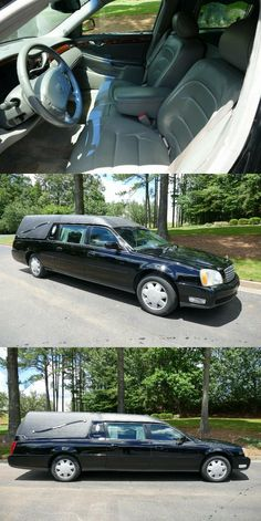 2001 Cadillac DeVille S&S Hearse [great shape] Oil Light, Cadillac, Shapes, Amp