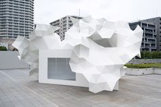 Akihisa Hirata and Oak Structural Design Office: Bloomberg Pavilion - cate st hill