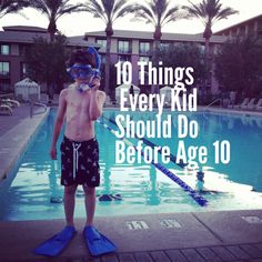 10 awesome ways to let kids be kids #spon