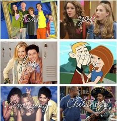 YES! Even Stevens, Hannah Montana, Phil of the Future, Kim Possible, Lizzy McGuire, That's So Raven