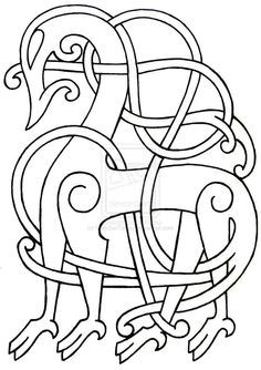 Viking Flash 29 by DarkSunTattoo on DeviantArt Art Viking, Viking Age, Celtic Patterns, Celtic Designs, Viking Embroidery, Embroidery Patterns, Norse Clothing, Viking Pattern, Symbole Viking