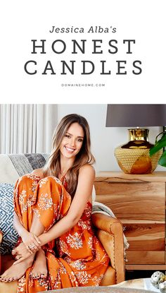 Jessica Alba spills the details on her Honest Company candles