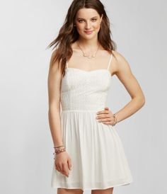Chevron Stitch Bustier Dress - Aéropostale®