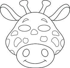 Jungle Buddies Color Your Own Mask Kids Party Ideas Pinterest