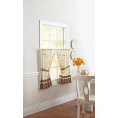 Better Homes And Gardens Kitchen Curtains Cafe Au Lait