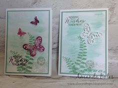 The Craft Spa - Stampin' Up! UK independent demonstrator : CAS Butterfly Basics