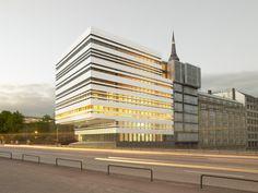 Bürogebäude WB 57 in Hamburg - Fassade - Büro / Verwaltung - baunetzwissen.de