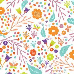 Flower Pop fabric by anniemathews on Spoonflower - custom fabric