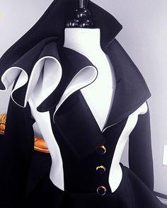 Nicci Hou Collection Color Block peplum jacket #niccihou #niccihoucollection #cruelladeville