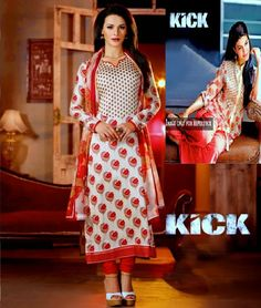 Incredibly Indian! Grab EXTRA 18% Off on all new range of #KickDesignerSuits, #JacquelineFernandezSuits..  Your Ethnic wardrobe is up for a treat. Rush Now>>http://www.shoppers99.com/all_sales/kick_movie_designer_salwar_suits_collection