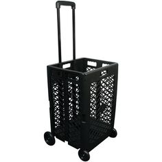 Olympia Tools Pack-N-Roll Mesh Rolling Cart, with Bonus Tumbler Drawer Cart, Moving Blankets, Moving Supplies, Rolling Storage Cart, Black Mesh, Olympia, Crates, Walmart, Easy
