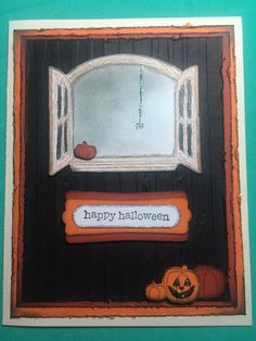 Stampin up cottage window