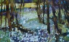 Woodland Garlic Watercolour