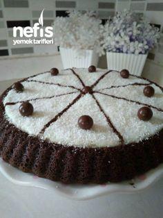 Tart Pasta – Nefis Yemek Tarifleri – Tart Pie in the the the Cake Serving Chart, One Tier Cake, Cake Stand Decor, Beautiful Cake Designs, Pretty Wedding Cakes, Cake Sizes, Basic Cake, Buttercream Flower Cake, Dessert Decoration