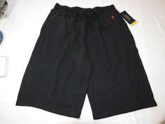 Polo Ralph Lauren men's shorts logo M Black soft & light lounge shorts NWT #PoloRalphLauren #loungeshorts