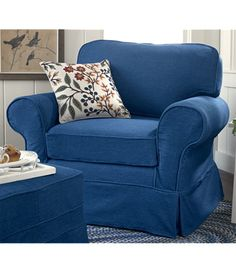 Merveilleux Denim Chair I Bought This Chair,ottoman, Couch U0026 Chair   I Absolutely Love