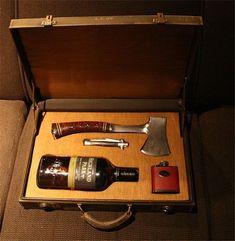 Wedding » 20+ Groomsmen Gifts Ideas You Will Love » Gentlemens Survival kit for Groomsmen