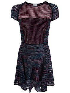 Missoni knit mixed pattern dress | wantering | womens fashion | womens style | fall winter trend