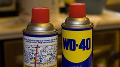 Use WD-40 to Clean and Protect Stainless Steel    If your house is outfitted with a lot of stainless steel, chances are after a few months of use, everything is covered in fingerprints and stains. If you want to clean it easily and leave it with a nice coat of protection, This Old House recommends using a little WD-40.     You need to remember WD-40 is a petroleum-based product, so don't use it on anything in the kitchen without cleaning it thoroughly afterwards. Even still, if you're trying…