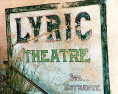 lyric theater old building image bisbee arizona....saw many movies in the 70's in this theater in Bisbee.
