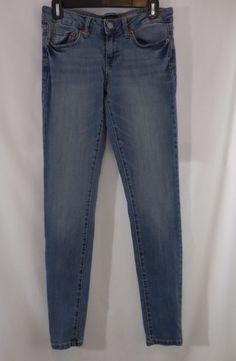Aerospotale Jegging Skinny Leg Jeans Womens Size 4 Inseam 29.5 Y55240 #Aropostale #jeggingsSlimSkinny