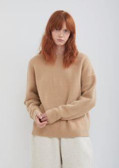 8eab242d1be2 Cashmere Crewneck Sweater - 0   Honey