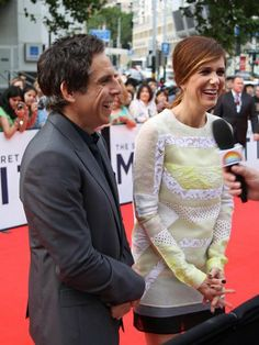 "Red carpet premiere of ""The Secret Life Of Walter Mitty"" at the Sydney Entertainment Centre, Australia on 21 November 2013. Must have been something funny Ben said."