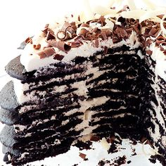 Famous Wafer Chocolate Ice Cream Cake Recipes — Dishmaps