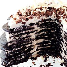 Famous Wafer Chocolate Ice Cream Cake Recipes — Dishmaps