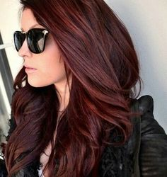 Mahogany Hair Color Pictures