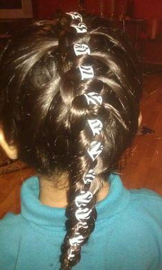 Tahlia school braid